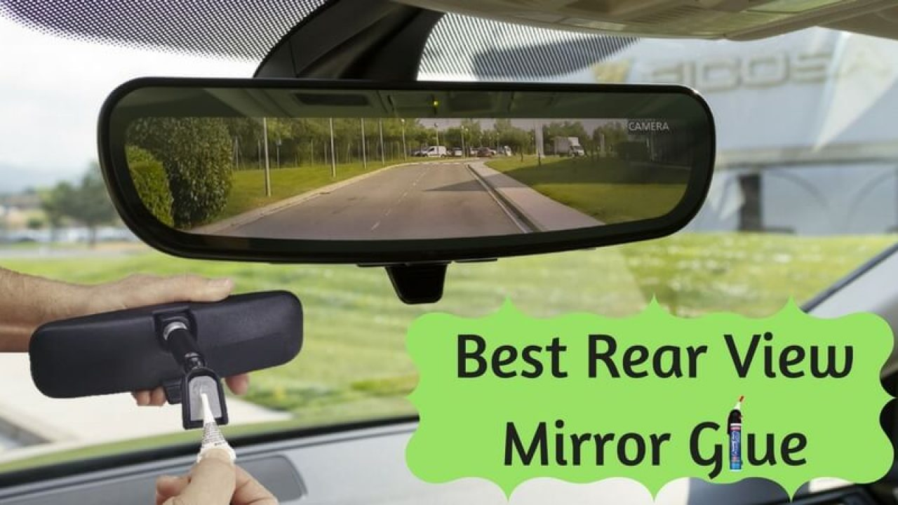 New Dropped Fallen Off Car Mirror Strong Interior Mirror Sticky Pads Repair Fix