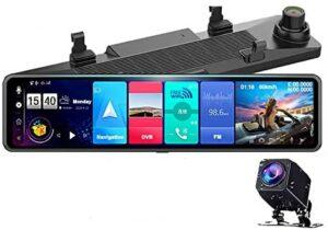 EKLEVA 12-inch Mirror Dash Cam
