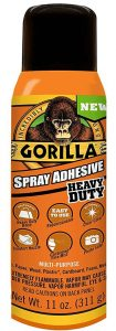 Gorilla Heavy Duty Spray Adhesive Multipurpose and Repositionable