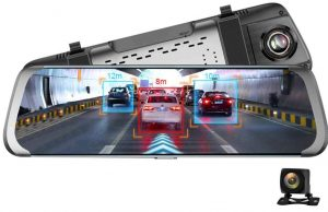 JUNSUN A930 WiFi Android Car Rearview Camera Mirror