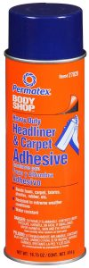 Permatex 27828 Body Shop Heavy Duty Headliner and Carpet Adhesive
