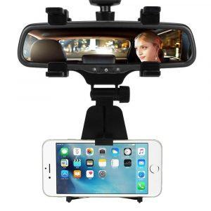 InCart Car Rear View Mirror Mount Holder Cradle