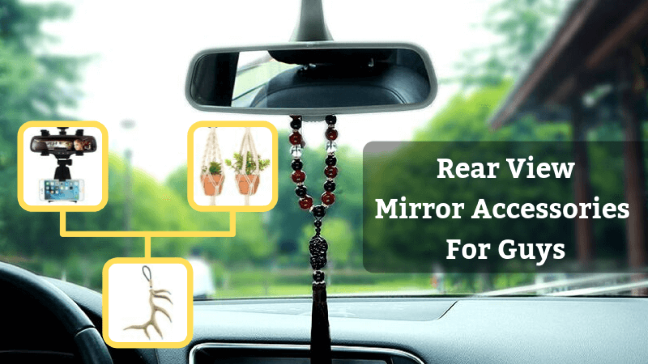 Rear View Mirror Charms Car Accessories Gift Ideas Rosary beads