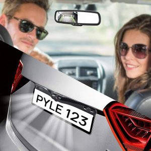4. Pyle Backup Car Camera Rear View Mirror