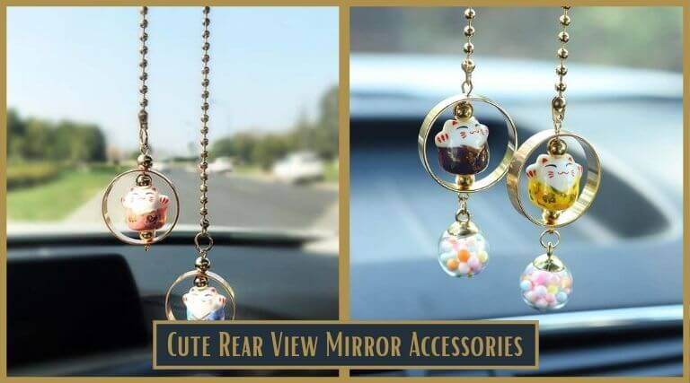 Photo of Cute Rear View Mirror Accessories – Hanger to Hang on Your Car Mirror