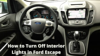 Photo of How to turn off interior lights in Ford Escape – Car interior guide